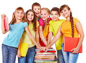 Group of teen — Stock Photo