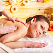 Woman getting massage . — Stock Photo #13089434