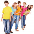 Group of teen - Stock Photo