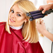 Woman at hairdresser. — Stock Photo #13336775