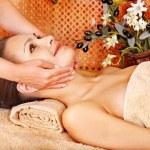 Woman getting body massage . — Stock Photo #13626809