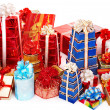 Stack of colour gift box. — Stock Photo #16048709