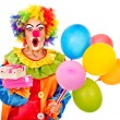 Portrait of clown. — Stock Photo #16051443