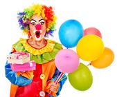 Portrait of clown. — Stock Photo