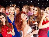 Skupina taneční party. — Stock fotografie