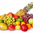 Group of colour fruit. - Stock Photo
