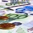 Background of euro money. — Stock Photo