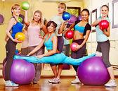 женщины в aerobics. — Стоковое фото