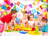 Child birthday party . — Zdjęcie stockowe