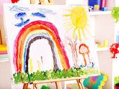 Aula preescolar. — Foto de Stock