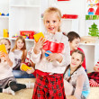 Children in kindergarten. - Stock Photo
