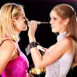 Stock Photo: Preparation for fashion show.