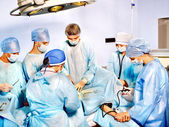 Group of in operating room. — Stock Photo
