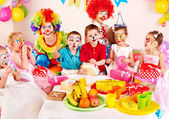 Child birthday party . — 图库照片