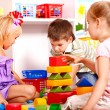 Children in kindergarten. — Stock Photo