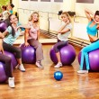 Women in aerobics class. — Stock Photo #21052159