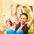 Women in aerobics class. — Stock Photo #21052191