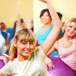 Women in aerobics class. — Stock Photo #21052195