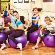 Women in aerobics class. — Stock Photo #21052235