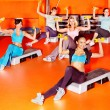 Women in aerobics class. — Stock Photo #21052279