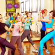 Women in aerobics class. — Stock Photo #21052281