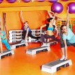 Women in aerobics class. — Stock Photo #21052337