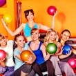 Women in aerobics class. — Stock Photo #21052361