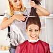 Royalty-Free Stock Photo: Woman at hairdresser.