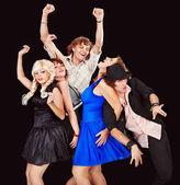 舞蹈组 — 图库照片