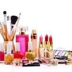 Decorative cosmetics for makeup. — Stock Photo