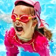 Child in swimming pool. — Stock Photo #22899226