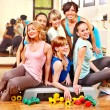 Women in aerobics class. — Stock Photo #22900870