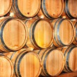 Royalty-Free Stock Photo: Barrel of wine in winery.