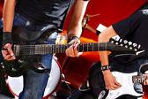 Man playing guitar. — Stock Photo