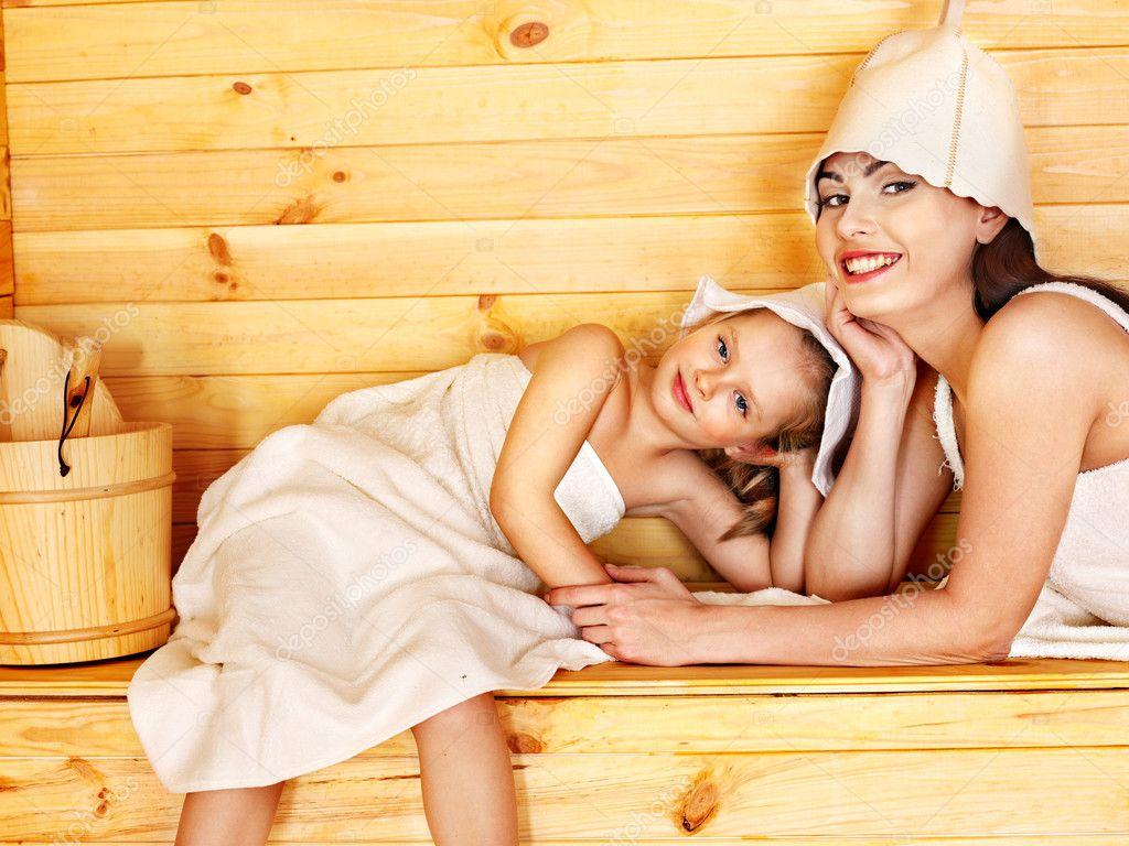 Семьи пошли в бане 14 фотография