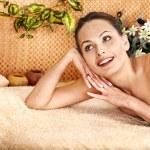 Woman getting body massage . — Stock Photo #29031151