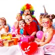 Foto de Stock  : Child birthday party .