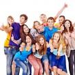 Grupo multiétnico de personas — Foto de Stock