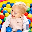 Child in colored ball. — Stock Photo #30744215