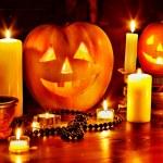 Halloween pumpkin lantern. — Stock Photo #32534101