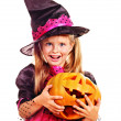 Witch children at Halloween party. — Stock Photo #32946245