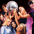 Womon disco in night club. — Stock Photo #33332911