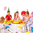 Child birthday party . — Stock Photo #33927363