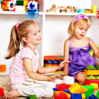 Stock Photo: Children in kindergarten.