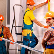 Men in builder uniform. — Stock Photo #35334255