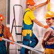 Men in builder uniform. — Stock Photo