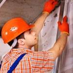 Man in builder uniform. — Stock Photo #35334751