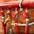 Pipes system — Stock Photo