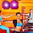 Women in aerobics class. — Stock Photo #36642003
