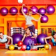 Women in aerobics class. — Stock Photo #36642231